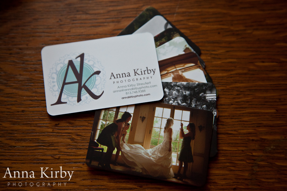 Wedding Photographer Business Card | Anna Kirby Photography - South ...
